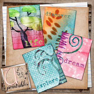 Scaricabili free per Art Journal, Calendar Pages e Project Life (3/6)