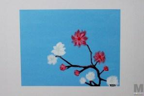 Bloom, Acrylic on 14×18″ canvas