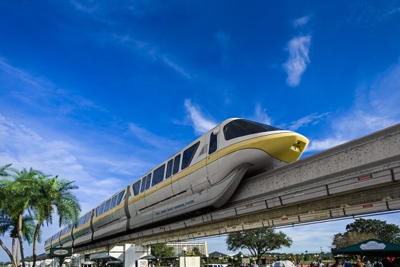 the Walt Disney World Monorail
