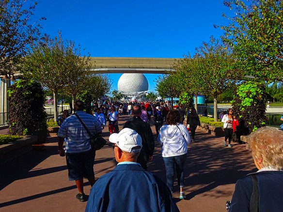 a normal day in Epcot