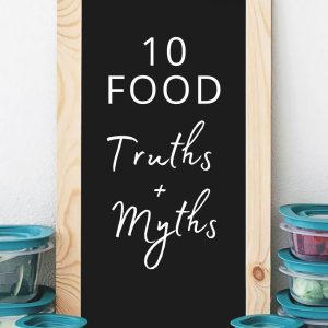 10 Food Truths and Myths Monika Anna Fitness