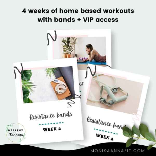 Home workout plan with bands - monikaannafit