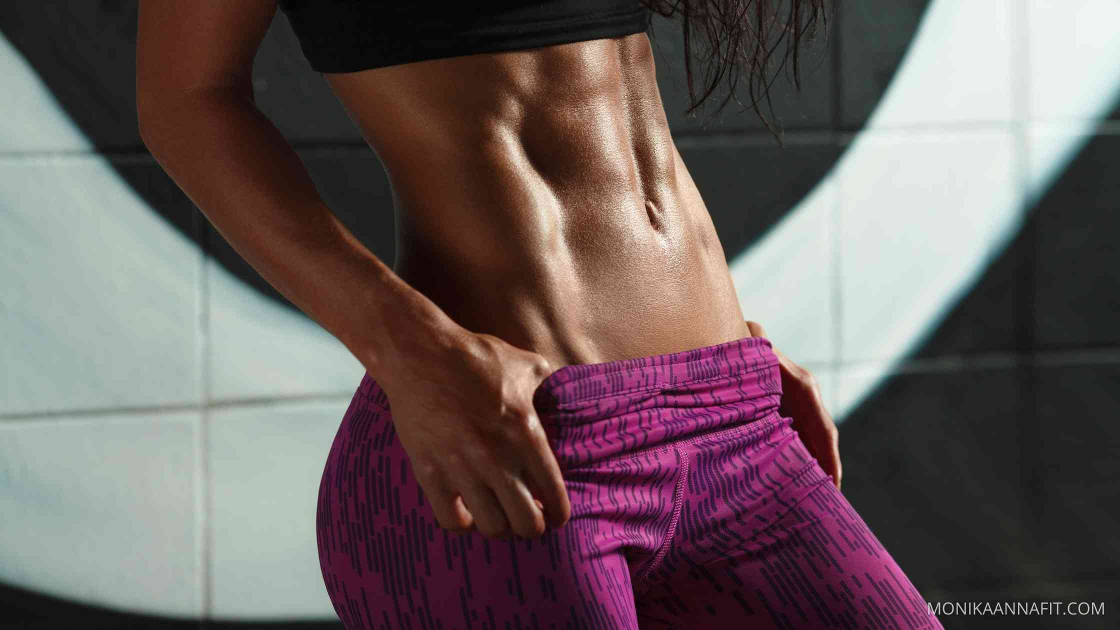10 workout videos for slim abs at home - monikaannafit