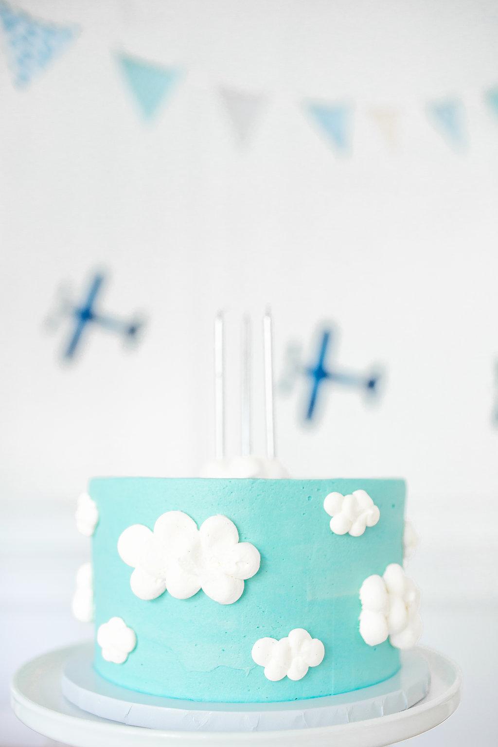 Liam S 3rd Airplane Birthday Monika Hibbs