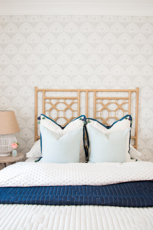Coastal Guest Bedroom Monika Hibbs