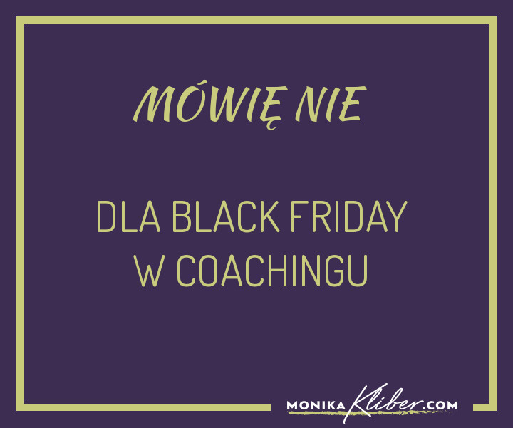 Black-friday coaching