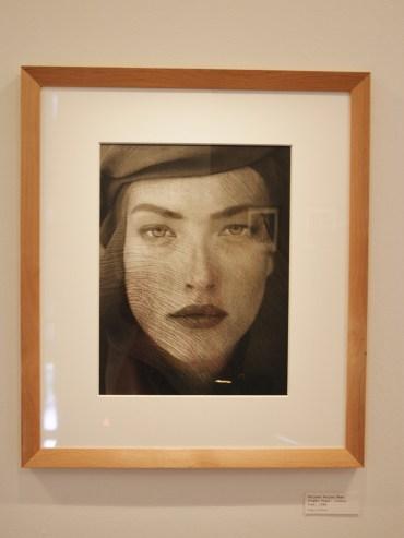 Tatjana Veiled Head (Tight View), Joshua Tree, 1988