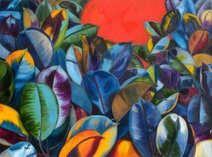 Monika Ruiz Art - Dipping Sun