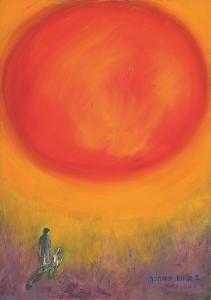 Monika Ruiz Art - Jay&Boo Talking To The Sun