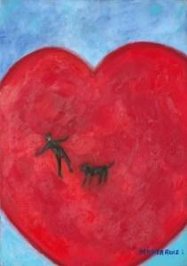 Monika Ruiz Art - Jay in Love