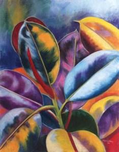 Monika Ruiz Art - Lilac Jungle