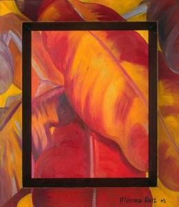 Monika Ruiz Art - Red Yellow