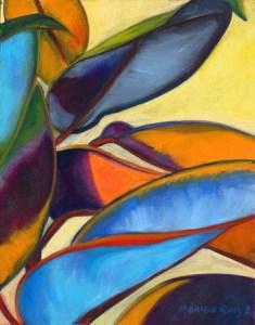 Monika Ruiz Art - Yellow Jungle
