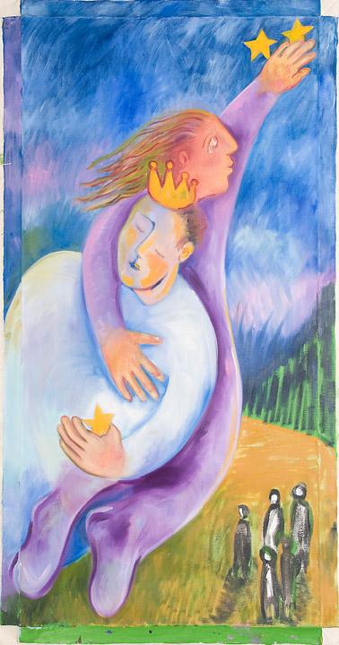 Monika Ruiz Art - Healing The King