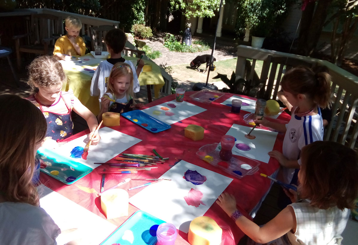 Monika Ruiz Creative Art Time Parties for Children