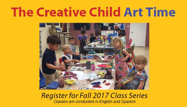 Register for Fall 2017 - The Creative Child Art Time with Monika Ruiz