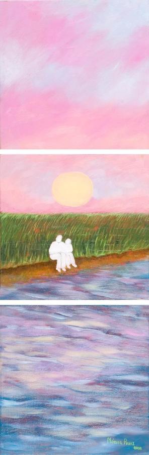 Monika Ruiz Art - Riverside Story