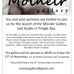 Opening of Moineir gallery, Pringle Bay