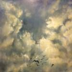 Oil on canvas 800 x 800 cms