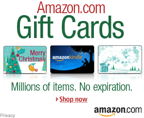 AD: Amazon Gift Cards