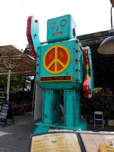 Robot Statue Seminyak Bali