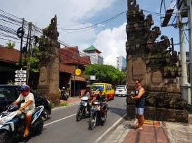 Seminyak Bali Village Gate