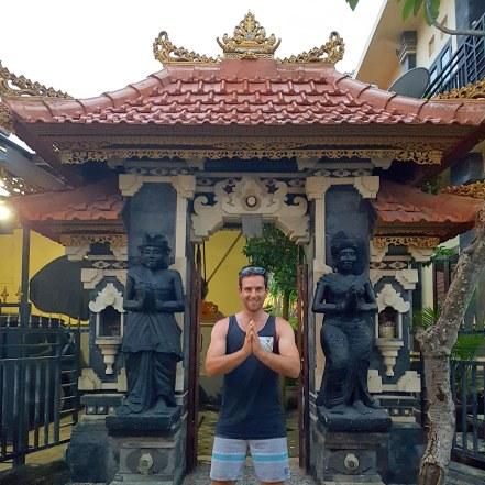 Seminyak Bali House Entrance