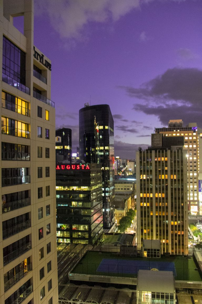 Auckland Night View