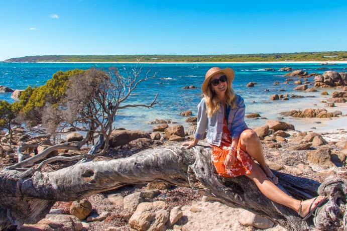 Kivari Girl at Bunker Bay