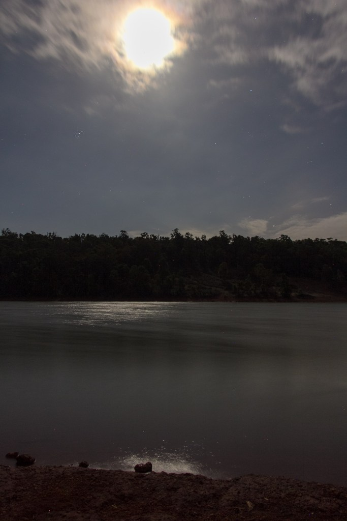 Moonlight at Waroona Dam