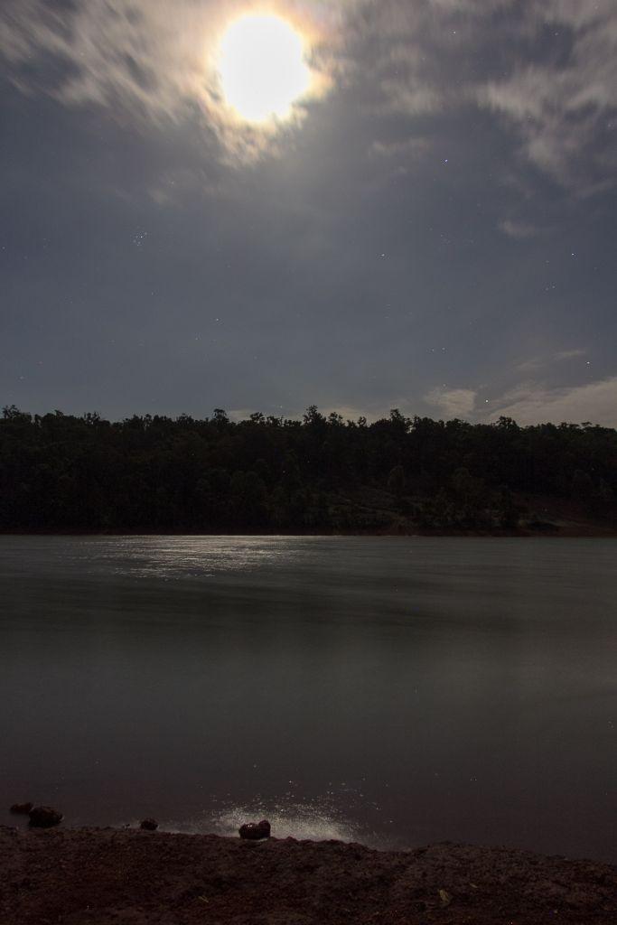 Moonlight at Waroona Dam