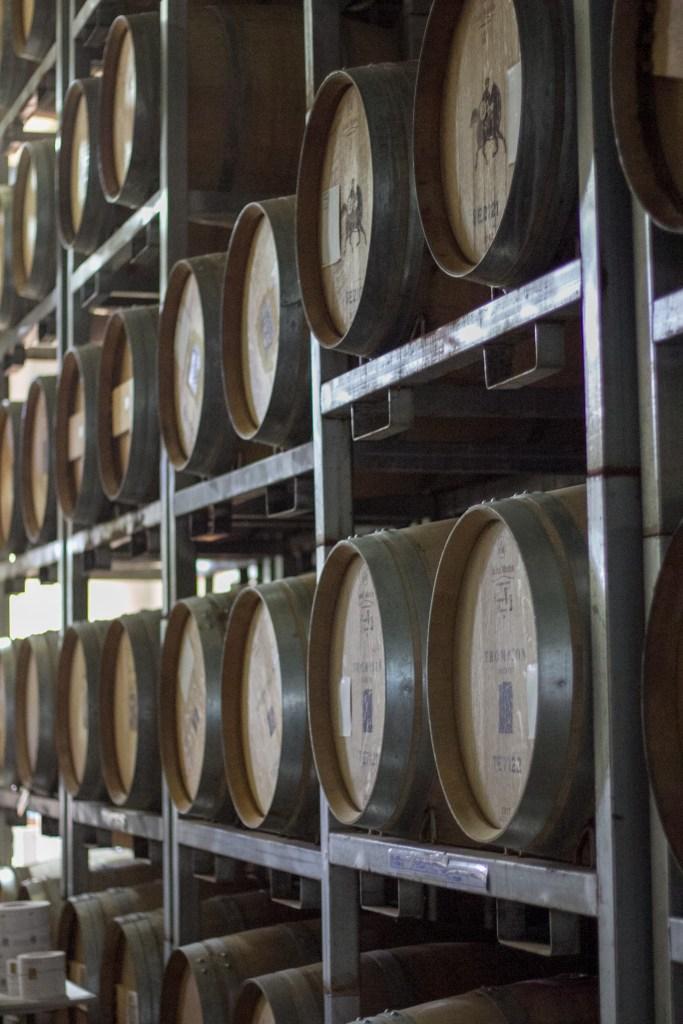Thompson Estate Wine Barrels