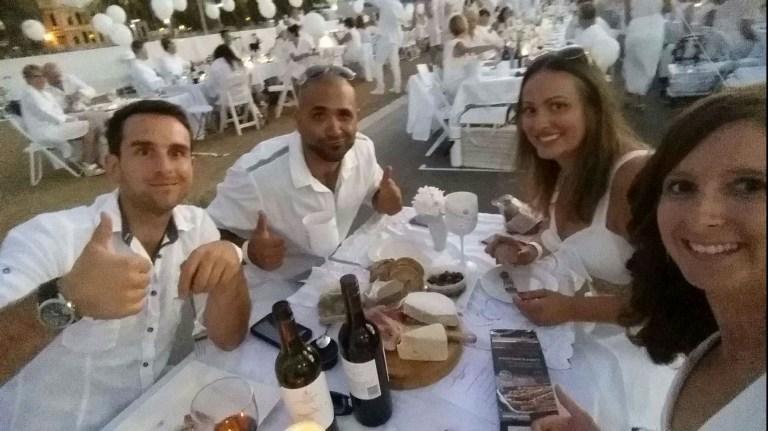 Diner en Blanc Dinner
