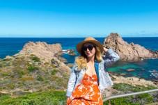 Kivari Girl at Sugarloaf Rock