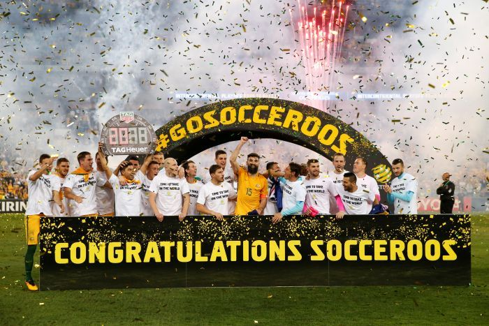 Socceroos Qualify for FIFA 2018