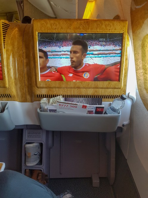 Emirates Business Class Flight 2