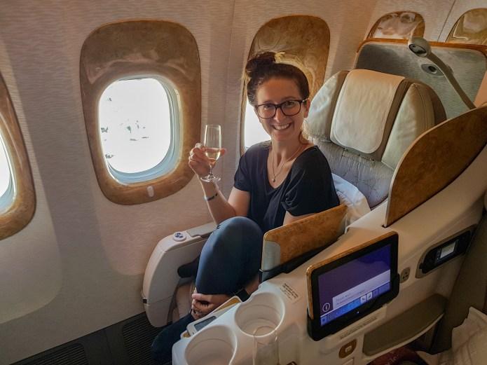 Emirates Business Class Flight 6