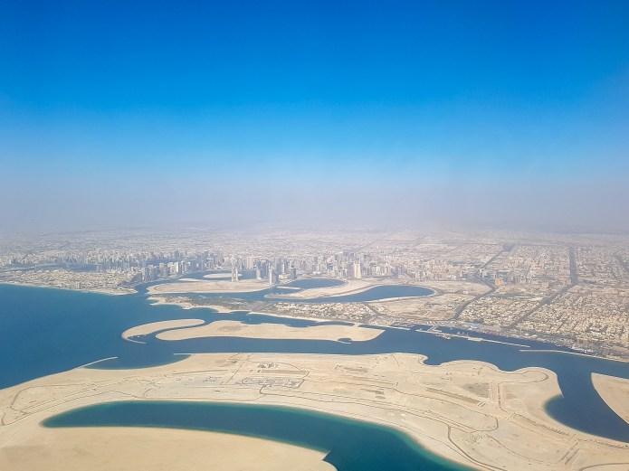 Emirates Business Flight