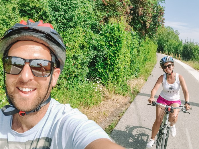Riding Lake Annecy 1
