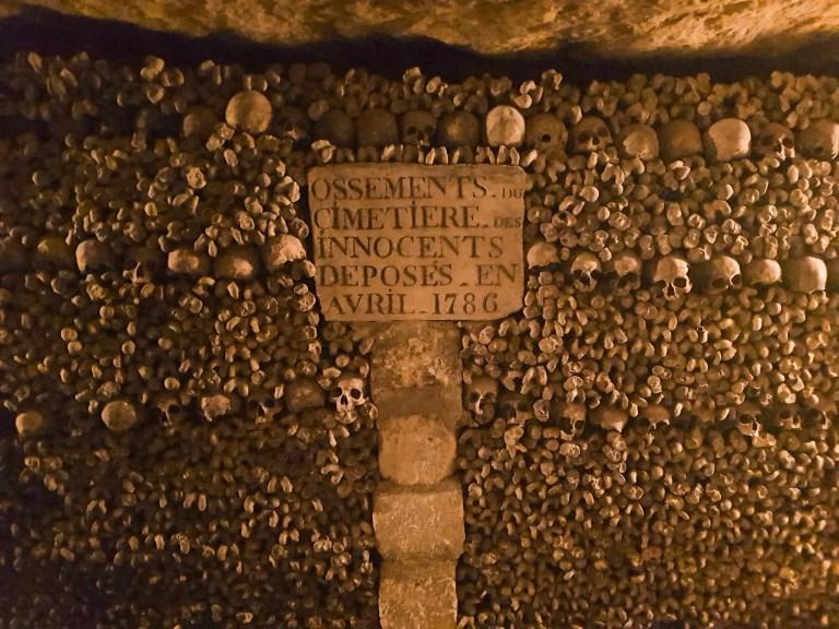 Catacombs of Paris 1