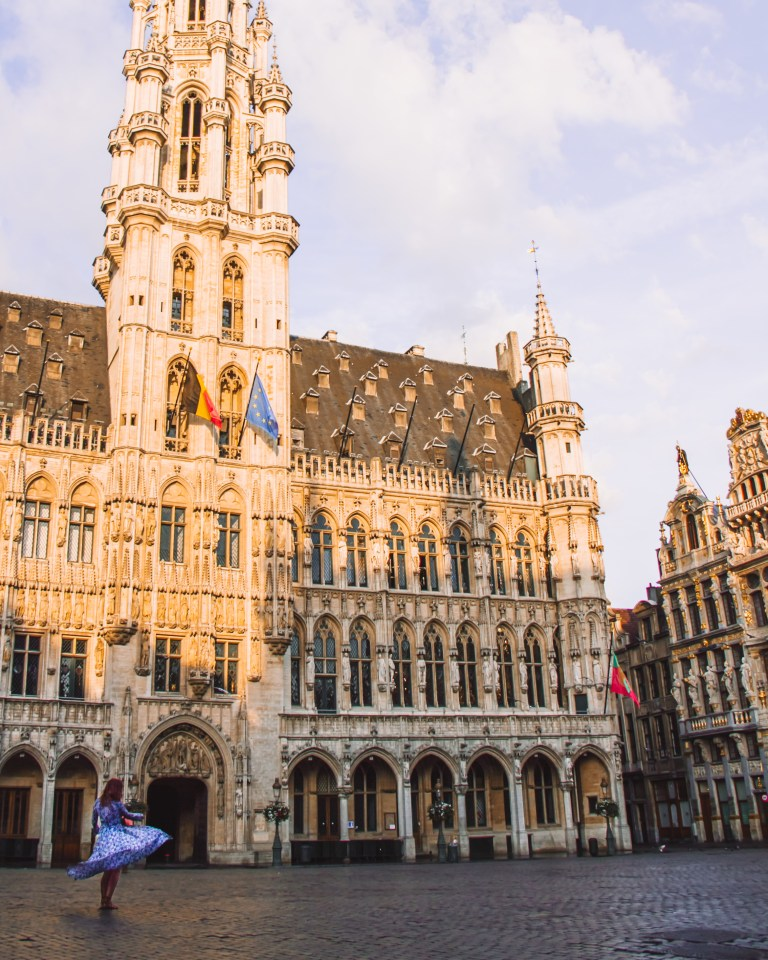 Grand Market Place Brussels City