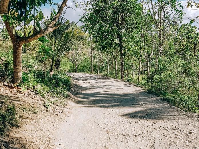 Nusa Penida Roads Indonesia