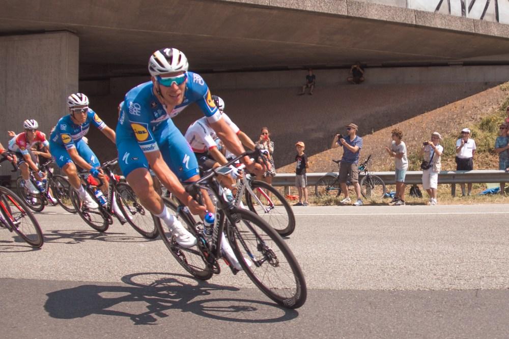 Stage 2 Bouffere Tour de France Race Leader
