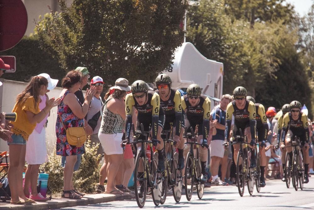 Stage 3 Tour de France La Senguibiere Team Mitchelton Scott