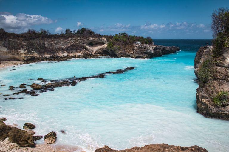 Explore Nusa Lembongan Bali Indonesia Blue Lagoon