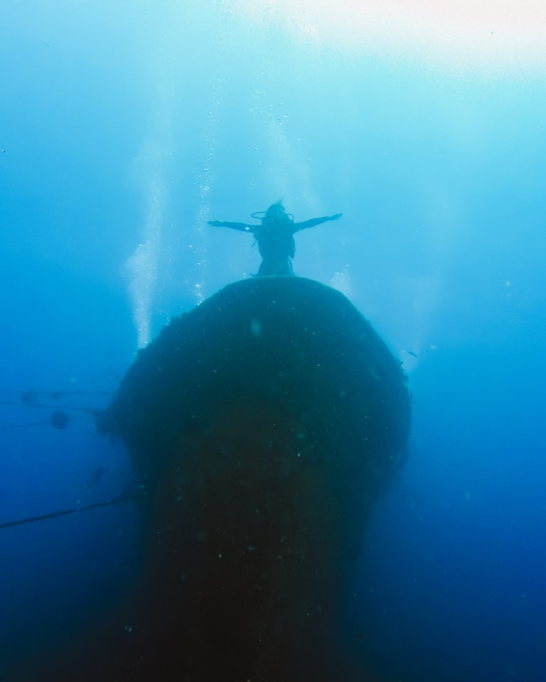 Kubu Shipwreck Tulamben Bali Indonesia