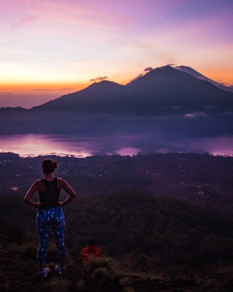 Mount Batur Sunrise Hike Ubud Bali Indonesia