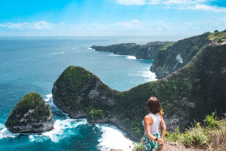 Nusa Penida Bali Indonesia TRex Rock