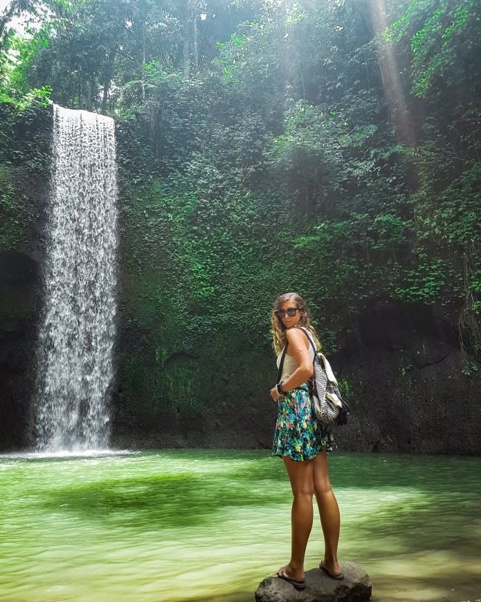 Tibumana Waterfall Ubud Bali Indonesia