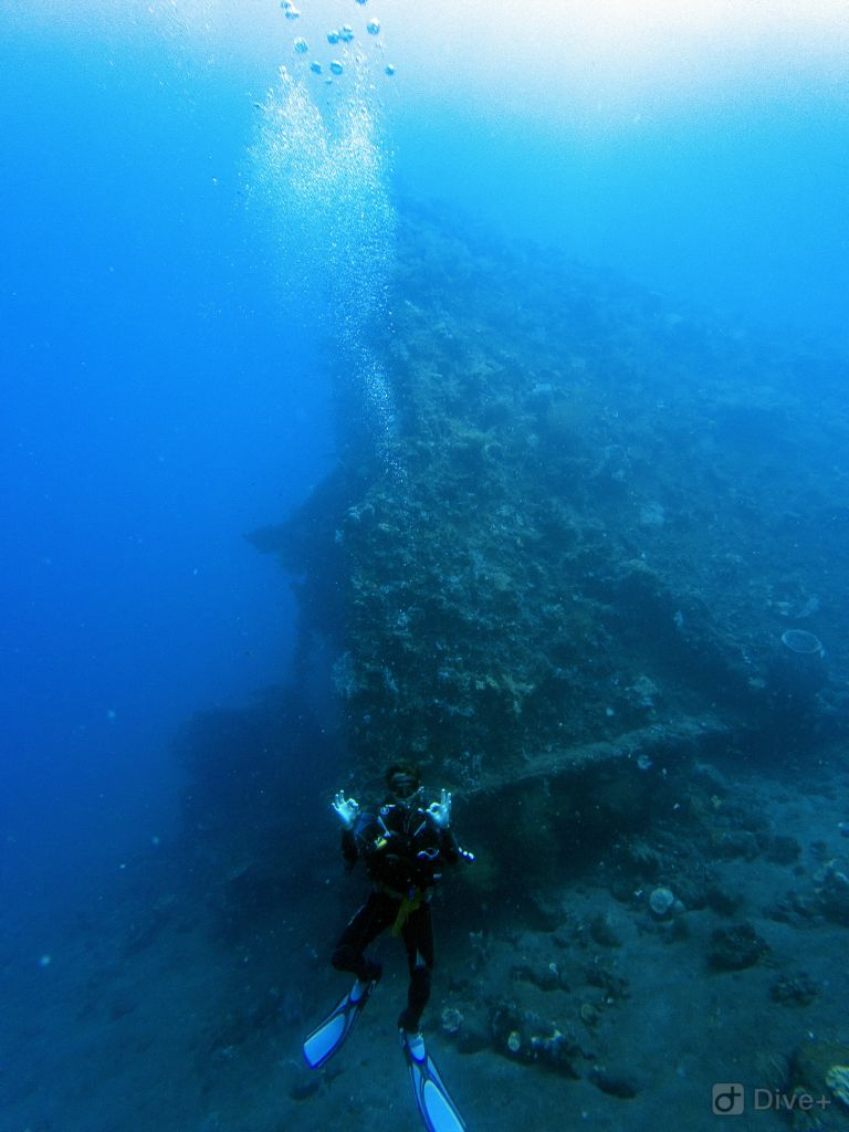US Liberty Shipwreck Tulamben Bali Indonesia